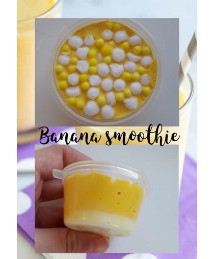 Игрушка слайм Banana Smoothie, 150 ml