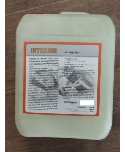 INTERIOR Premium 5 л, средство для текстиля, к Торнадор Cyclone
