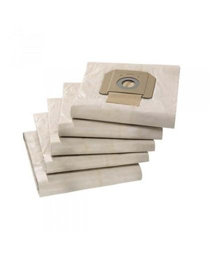 Бумажные фильтр-мешки для пылесоса Karcher NT 70/2, 70/3 (5 шт)