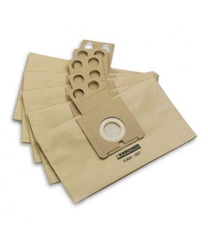 Фильтр-мешки для пылесоса Karcher RC 3000-4000 (6.904-257.0, 5 шт)