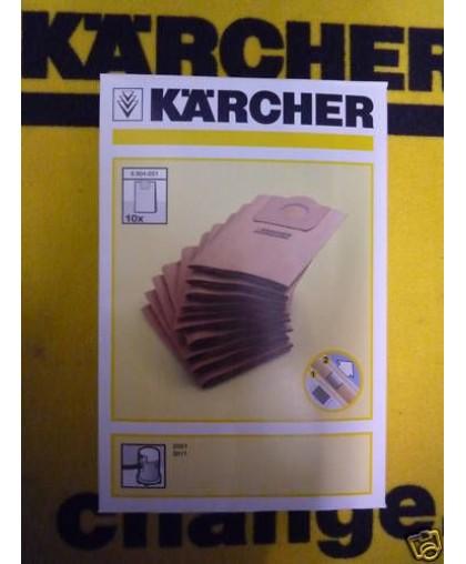 Фильтр-мешки Karcher K 2001-3011 (6.904-051.0, 5 шт)