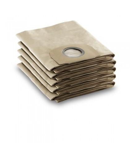 Бумажные мешки Karcher WD 4.200-5.900 (6.904-409.0, 5 шт)