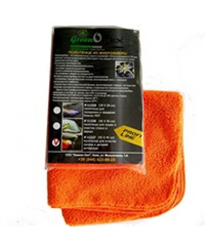 Полотенце Greenotex для полировки и блеска ЛКП