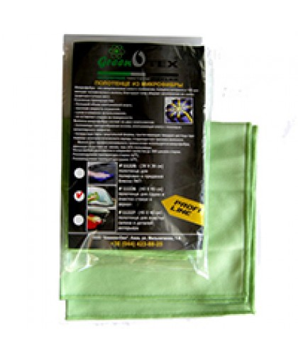 Полотенце Greenotex для стекол и зеркал