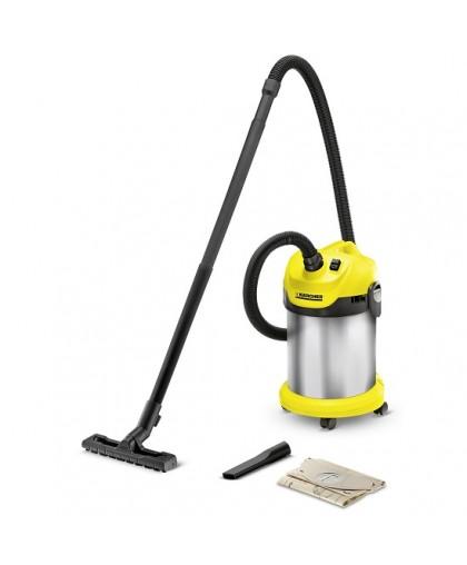Пылесос сухой и влажной уборки Karcher WD 2 Premium Basic