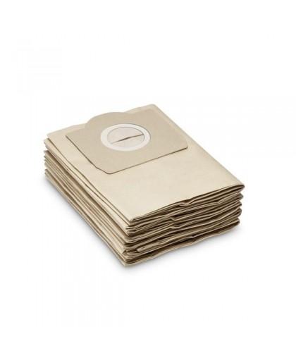 Бумажные мешки для пылесоса Karcher WD 3, MV 3, 6.959-130.0, 5 шт.